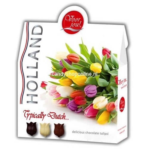 Voor Jou Chocolade Typically Dutch Tulips