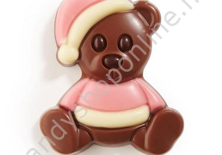 Dragee Chocolade Knuffelbeertje Roze/Wit