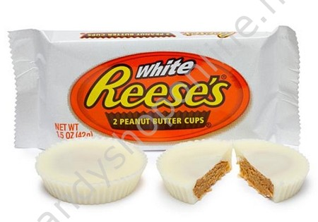 Reese's 2 Peanut Butter Cups White 42gr.