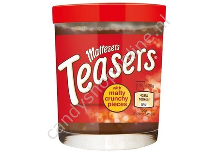 Maltesers Teasers Spread with Malty Crunchy Pieces 200gr.