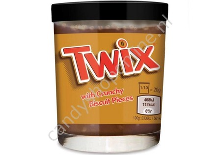 Twix Spread with Crunchy Biscuit Pieces 200gr.
