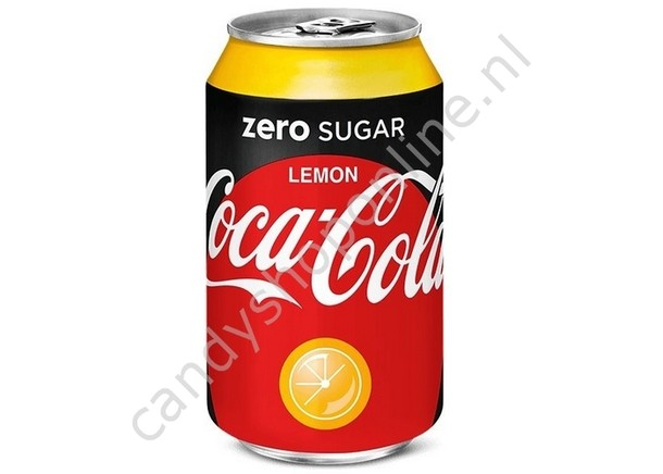 Coca Cola Zero Sugar Lemon