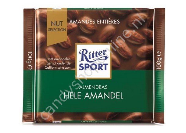 Rittersport Whole Almonds