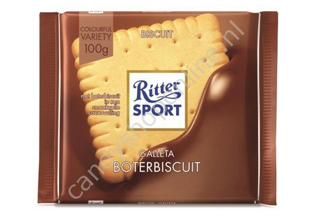Rittersport butter biscuit