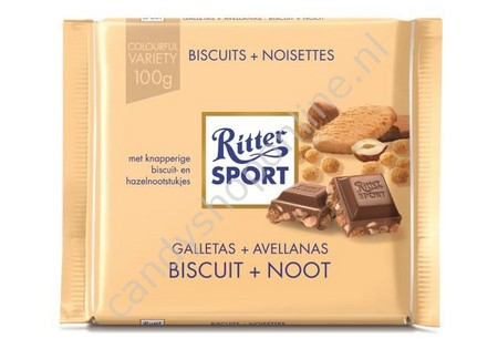 Rittersport Biscuits Nuts