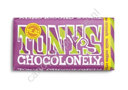 Tony Chocolonely Melk Chocolade Coffee Crunch