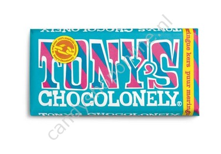 Tony Chocolonely Pure Chocolade Meringue Kers