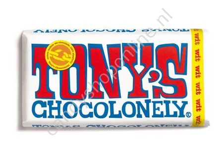 Tony Chocolonely Witte Chocolade