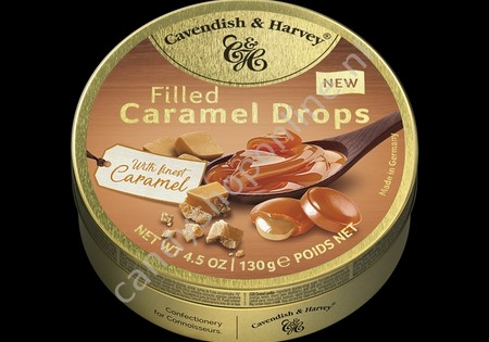 Cavendish & Harvey Filled Caramel Drops with Finest Caramel