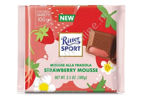 Rittersport Strawberry Mousse
