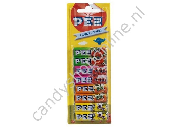 Pez Navul 8 Pack Fruit