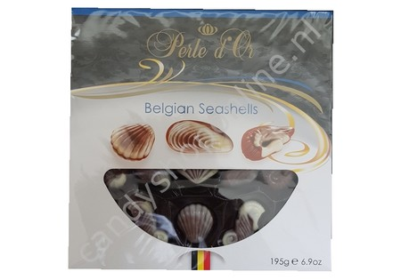 Perle d'Or Belgian Seashells