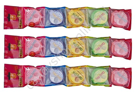 Crazy Roll Chewing Gum 5pack