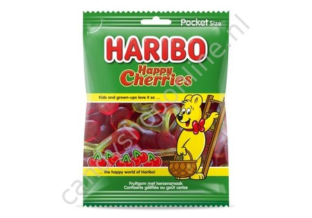 Haribo Happy Cherries 75 gram