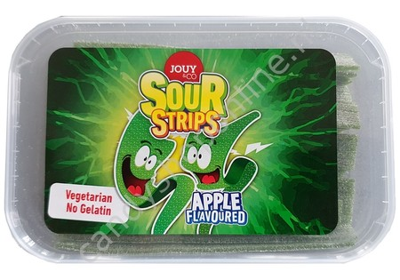 Jouy&co Sour Strips Apple 225 gram
