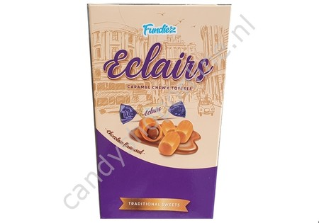 Fundiez Eclairs with Chocolate Box 250 gram