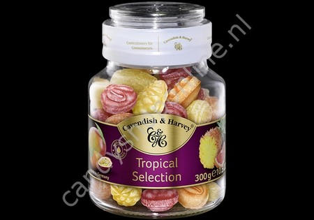 Cavendish & Harvey Tropical Selection with real Fruit Juice 300gr.