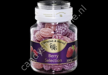 Cavendish & Harvey Berry Selection with real Fruit Juice 300gr.