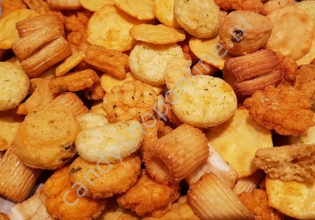 Borito rijstcracker mix 150gr.