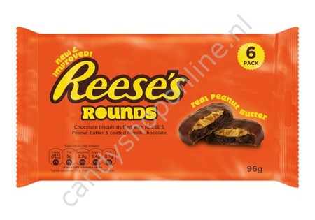 Reese's Peanut Butter Cups 6pck, 96gr.