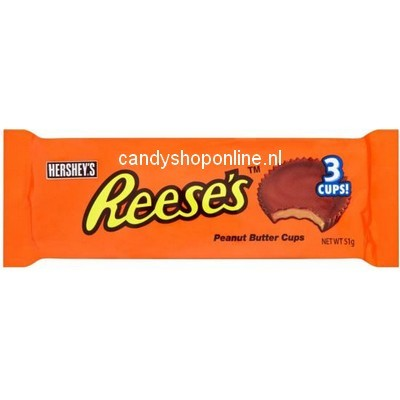 Reese's 3 Peanut Butter Cups 51gr.